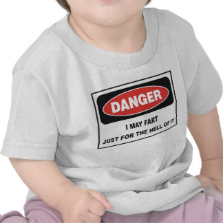 I MAY FART JUST FOR THE HELL OF IT TSHIRT