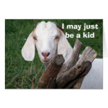 I MAY JUST BE A KID-HAPPY BIRTHDAY GREETING CARDS