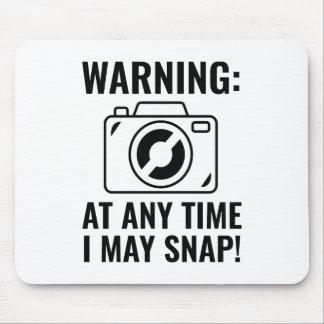 I May Snap Mouse Pad