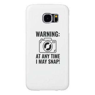 I May Snap Samsung Galaxy S6 Case