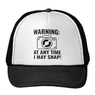 I May Snap Trucker Hat