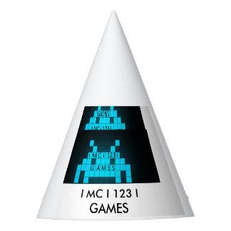 I MC I 123 I GAMES PARTY HAT