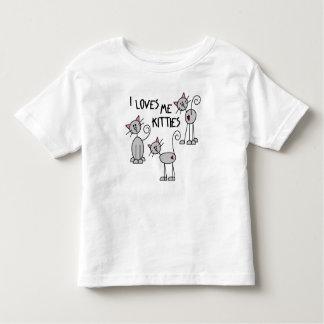 I me ama camiseta de los gatitos camisas
