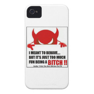 I MEANT TO BEHAVE iPhone 4 CASES