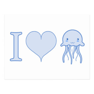 I medusas del corazón postal