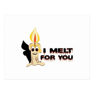 I Melt For You Postcard