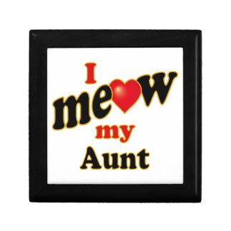 I Meow My Aunt Jewelry Box