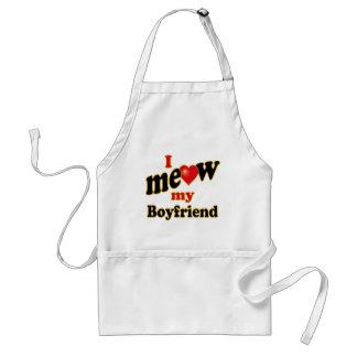 I Meow My Boyfriend Adult Apron