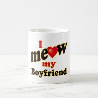 I Meow My Boyfriend Coffee Mug