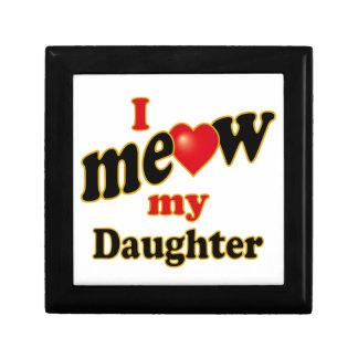 I Meow My Daughter Jewelry Box