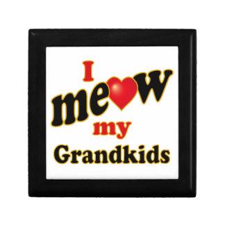 I Meow My Grandkids Jewelry Box