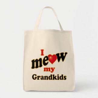 I Meow My Grandkids Tote Bag