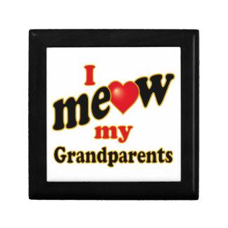 I Meow My Grandparents Jewelry Box