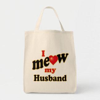 I Meow My Husband Tote Bag