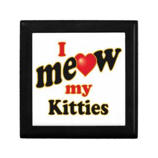 I Meow My Kitties Keepsake Box