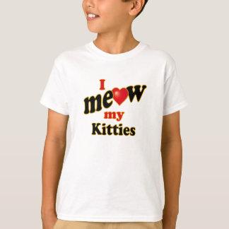 I Meow My Kitties T-Shirt