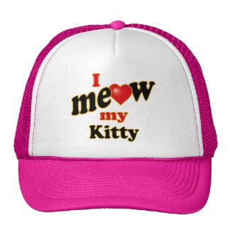 I Meow My Kitty Mesh Hat