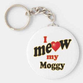 I Meow My Moggy Keychain