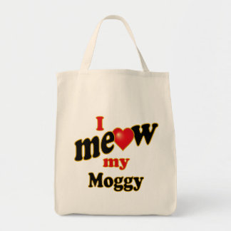 I Meow My Moggy Tote Bag