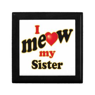 I Meow My Sister Gift Box