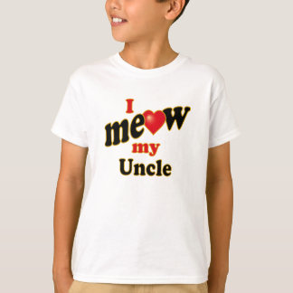 I Meow My Uncle T-Shirt