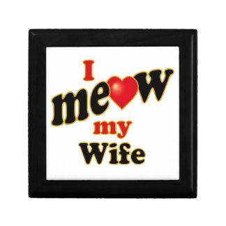 I Meow My Wife Gift Box