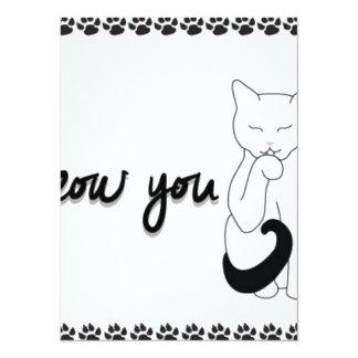 I-meow-you-greeting-card Card