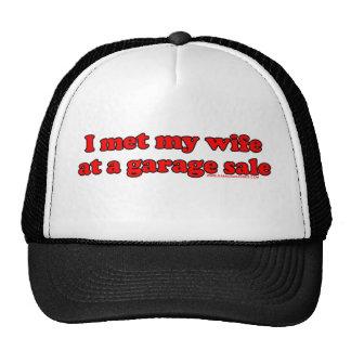I Met My Wife At A Garage Sale Trucker Hat