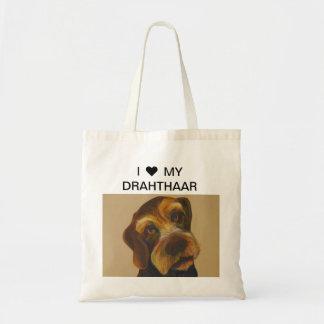 ♥ I MI bolso de DRAHTHAAR Bolsa Tela Barata