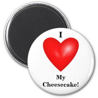 I mi imán del pastel de queso