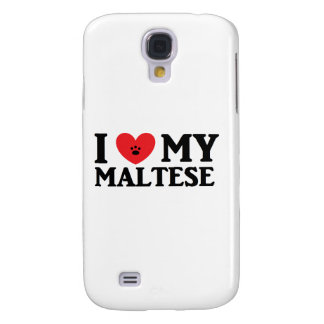 ♥ I mi maltés Funda Para Galaxy S4