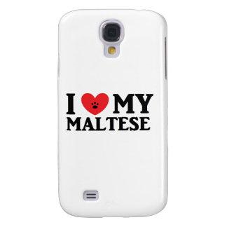 ♥ I mi maltés Samsung Galaxy S4 Cover
