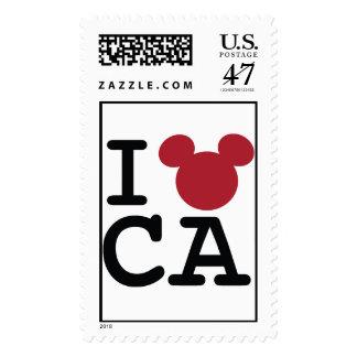 I Mickey California Postage Stamp