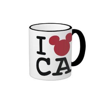 I Mickey California Taza A Dos Colores