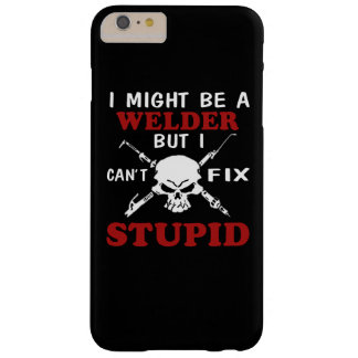 I MIGHT BE A WELDER BARELY THERE iPhone 6 PLUS CASE