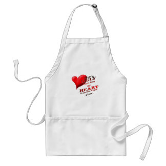 i might be ugly adult apron