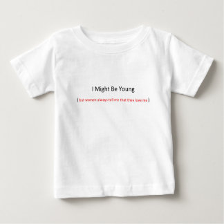i might be young toddler t-shirts