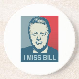 I MISS BILL -.png Drink Coaster