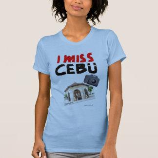 I Miss Cebu (Magellan's Cross) Shirt