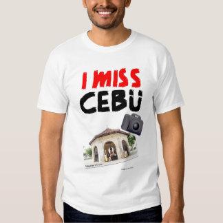 I Miss Cebu (Magellan's Cross) T-shirt