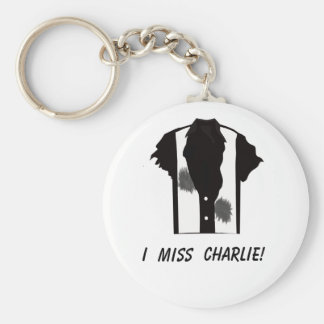 I miss Charlie keychain - fight