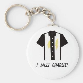 I miss Charlie keychain - vomit
