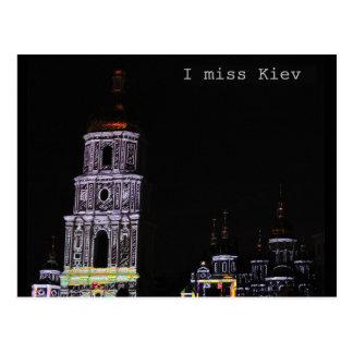 I Miss Kiev Postcard