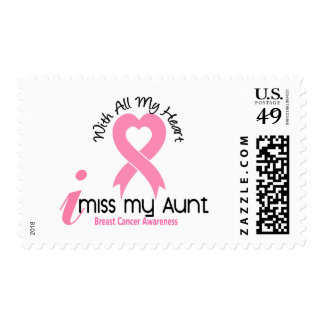 I Miss My Aunt Breast Cancer Stamp