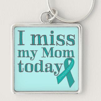 I Miss My Mom Today (Ovarian Cancer) Keychain
