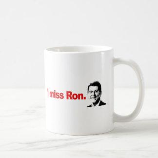 I MISS RON COFFEE MUG