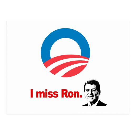 I MISS RON POST CARDS