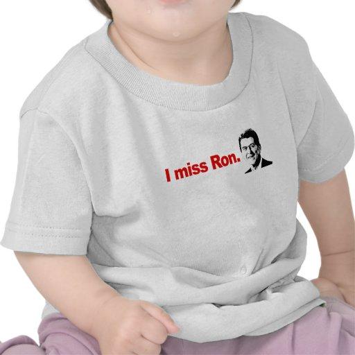 I MISS RON TSHIRTS