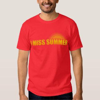 i miss summer t shirt