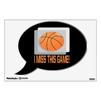 I Miss This Game 2 Wall Sticker